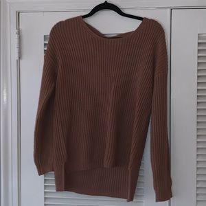 Charlotte Russe Peach Sweater
